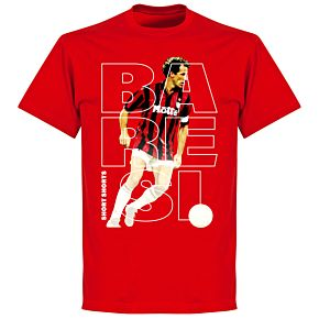 Baresi Short Shorts T-shirt - Red