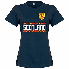 Scotland Team Womens Tee - Navy