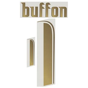 Buffon 1 - 2006 Italy Home Official Name & Number