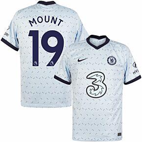 20-21 Chelsea Away Shirt + Mount 19 (Premier League)