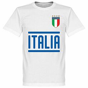 Italy Team Tee - White