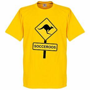 Socceroos Road Sign Tee