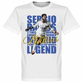Sergio Ramos Legend KIDS Tee - White