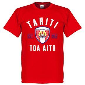Tahiti Established Tee - Red