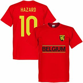 Belgium Hazard 10 Team KIDS Tee - Red