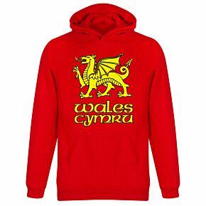 Wales - Cymru KIDS Hoodie - Red
