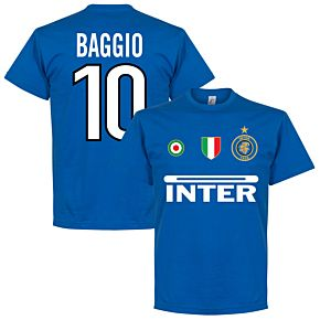 Inter Baggio 10 Team Tee - Royal