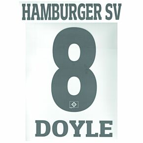 Doyle 8 (Official Printing) - 21-22 HSV Hamburg Home