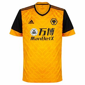 20-21 Wolves Home Shirt