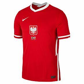 20-21 Poland Away shirt + 2020 Transfer