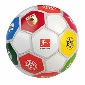 19-20 Bundesliga Club Logo Edition Ball (Size 5)