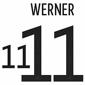Werner 11 (Official Printing) 20-21 Germany Home