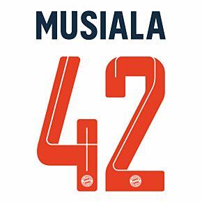 Musiala 42 (Official Printing) 21-22 Bayern Munich 3rd