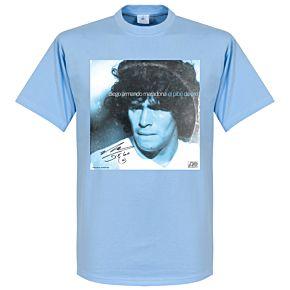 Pennarello LPFC Maradona Tee - Sky