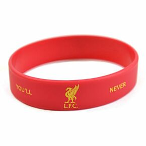 Liverpool Silicone Wristband - Red