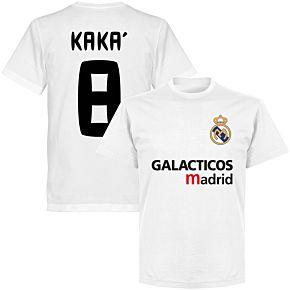 Galácticos Madrid Kaka 8 Team T-shirt - White