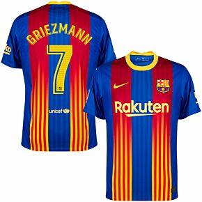 20-21 Barcelona 4th Shirt + Griezmann 7 (Match Pro)