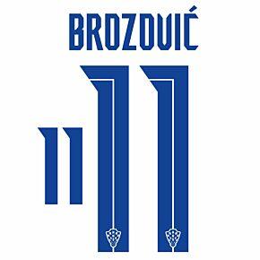 Brozović 11 (Official Printing) - 20-21 Croatia Home