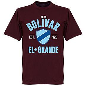 Club Bolivar Established T-Shirt - Maroon