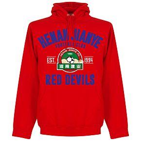 Henan Jianye Established Hoodie - Red