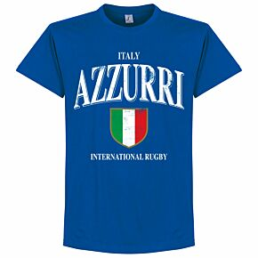 Italy Rugby Tee - Royal