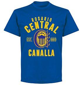 Rosario Central EstablishedT-Shirt - Royal
