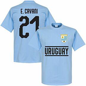 Uruguay Cavani 21 Team Tee - Sky