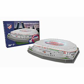 Atletico Madrid 'Wanda Metropolitano' 3D Stadium Puzzle