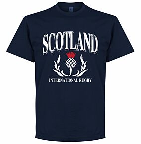 Scotland KIDS Rugby Tee - Navy
