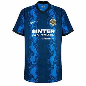 21-22 Inter Milan  Dri-Fit ADV Match Home Shirt