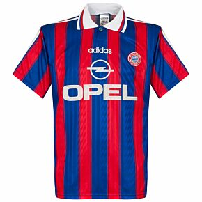adidas Bayern Munich 1995-1997 Home Shirt - USED Condition (Great) - Size S