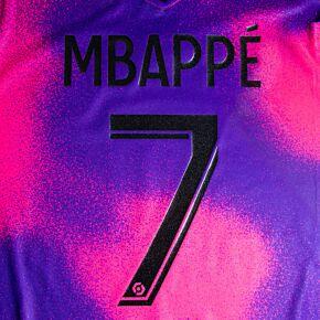 Mbappè 7 (Official Printing) - 20-21 PSG 4th