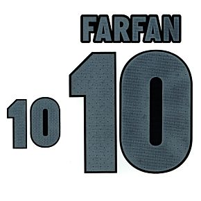 Farfan 10 (Official) 18-19 Peru Home/Away