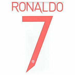 Ronaldo 7 (Cup Printing) - 21-22 Man Utd Away