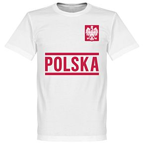 Poland Team Tee - White