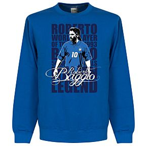 Baggio Legend Sweatshirt -  Royal