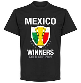Mexico 2019 Gold Cup Winners T-Shirt - Black