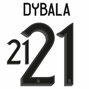 Dybala 21 (Official Printing) - 21-22 Argentina Home