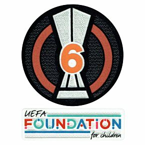 21-22 UEL Cup 6 Times Winner + Foundation Patch Set