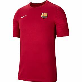 21-22 Barcelona Strike Training Shirt - Noble Red