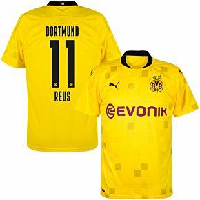 20-21 Borussia Dortmund Cup Shirt + Reus 11 (Official Printing)
