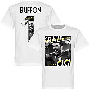 Grazie Gigi Buffon 1 Tee - White