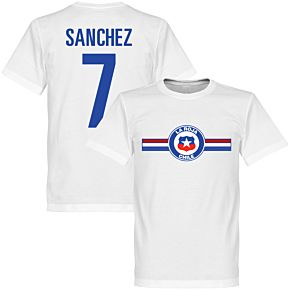 Chile Sanchez Tee - White