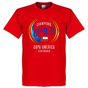 Chili COPA America Centenario Winners Tee - Red