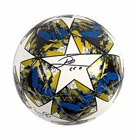 Lionel Messi Signed UEFA Champions League Football 19-20