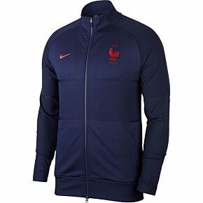 20-21 France Strike Anthem Jacket - Blue