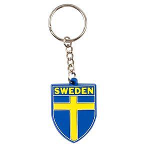 Sweden Rubber Keyring
