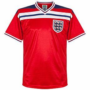 1982 England Away World Cup Retro Shirt