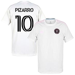 20-21 Inter Miami Home Shirt + Pizarro 10 (Fan Style)