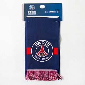 PSG Named Knitted Scarf